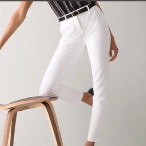 WHBM white pants